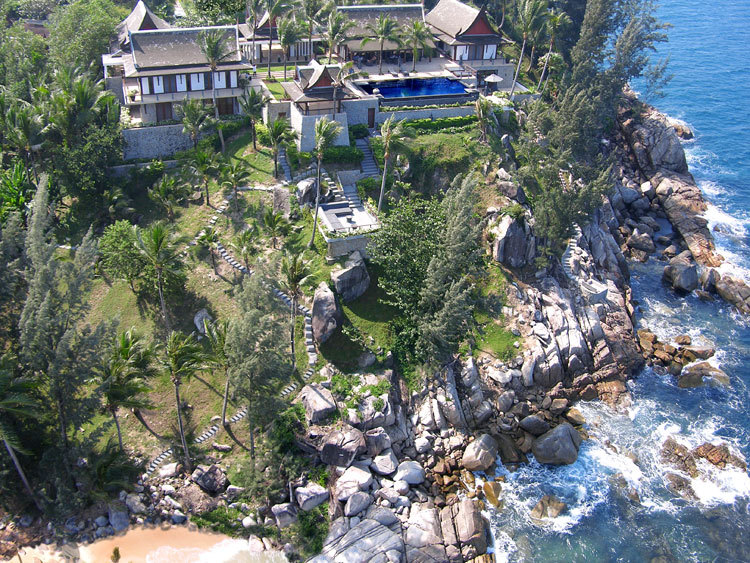 Phuket Villa 423 - A ultra luxury beachfront mansion
