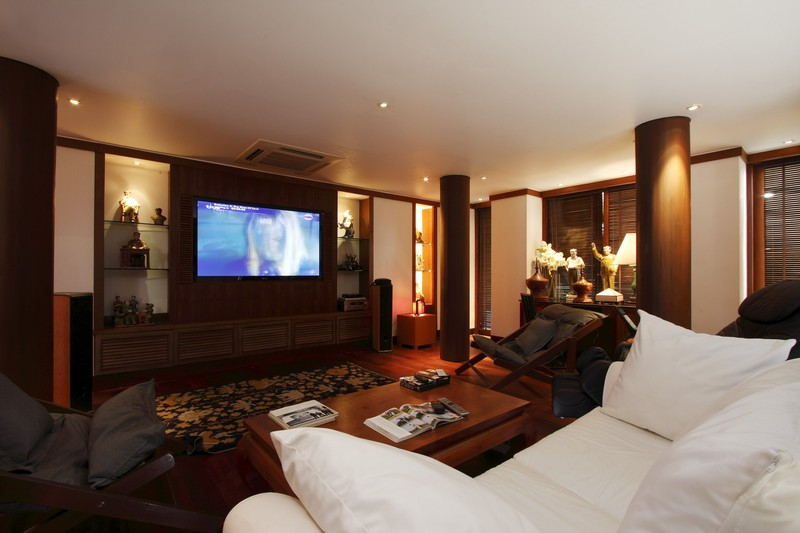 Phuket Villa 423 Dedicated Cinema room