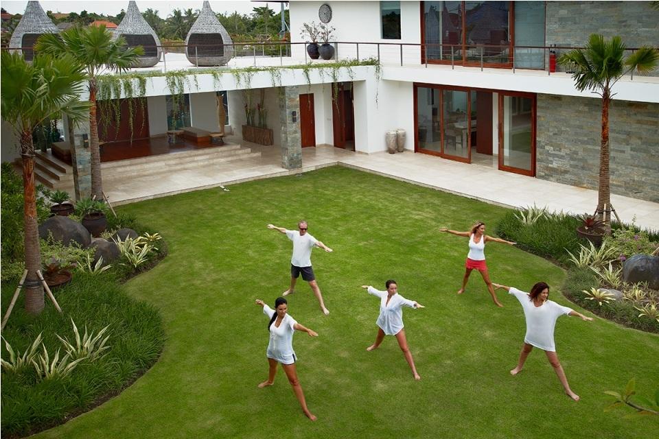 Seminyak Villa 3506 - Daily practice of yoga