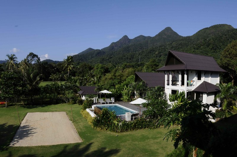 Koh Chang Villa 4265 - aerial view of the property