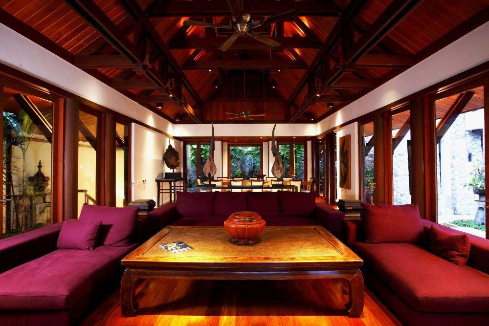 Kamala Villa 409 Phuket spacious living area