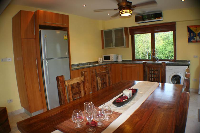 Koh Phangan Villa 4165 - Kitchen - Michelen Star Chef Service Available