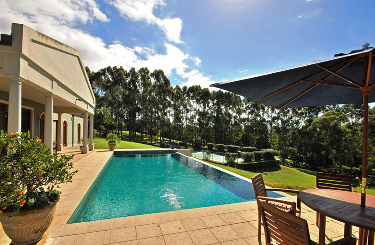 Byron Bay Villa 5267 on a 26-hectare property