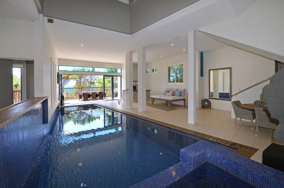Queensland Villa 5508 - indoor lap pool on the ground floor