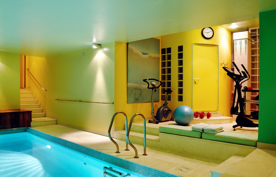 Paris Villa 1032 indoor pool and fully equipped gym