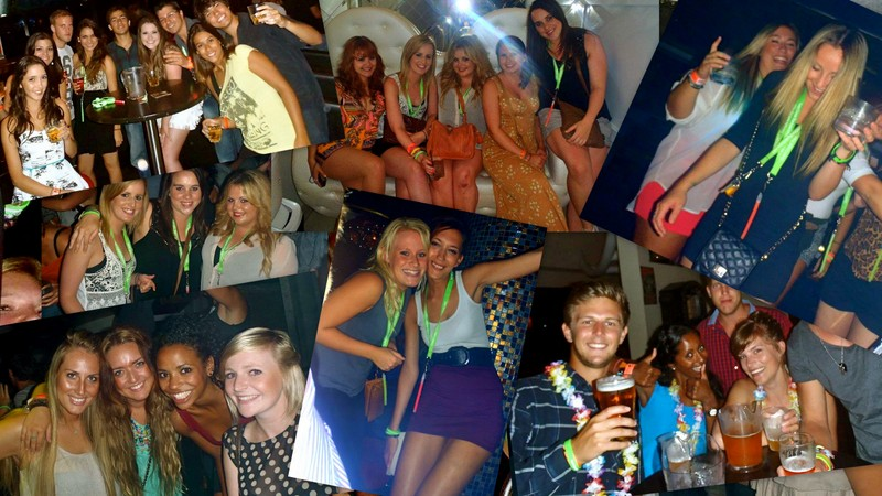 gold coast back packer - big night out