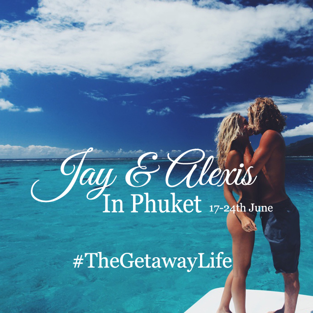 Jay and A in Phuket