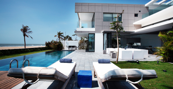 Vietnam luxury villa, private pools, beach front, Villa getaways