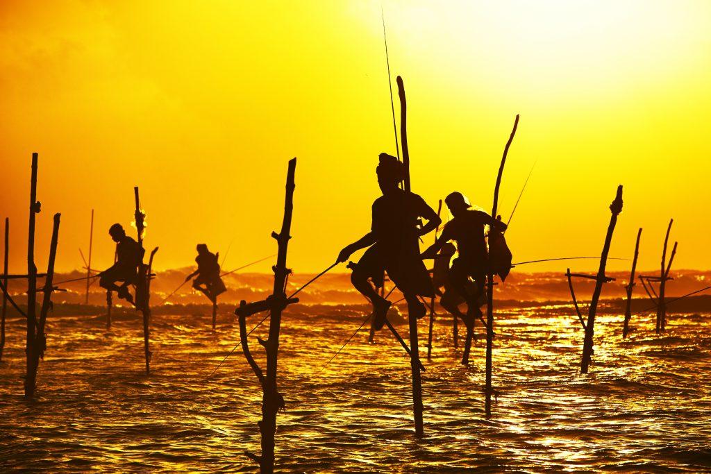 Stilt fishing in Sri Lanka - Luxury Holidays with Villa Getaways
