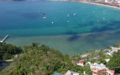 Villa 428 aerial view