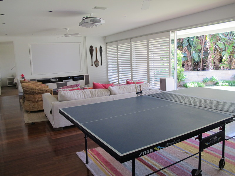 Balmoral Beach Villa 586 table tennis