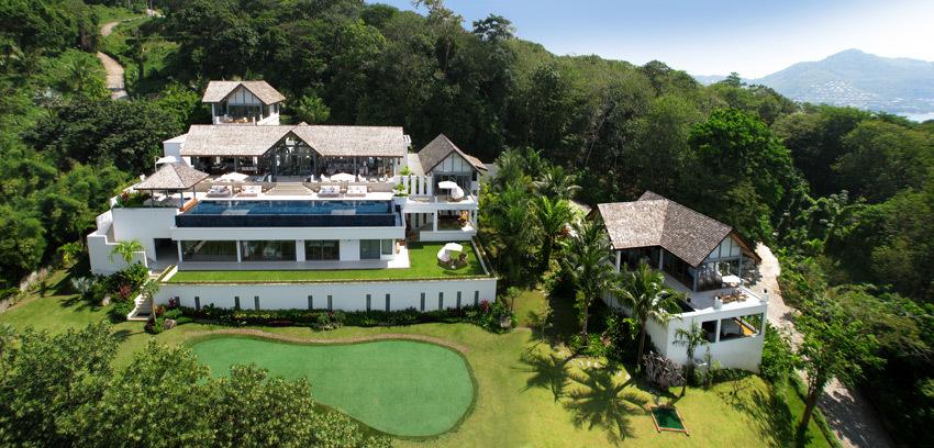 Phuket Villa 4195 Villa landscape