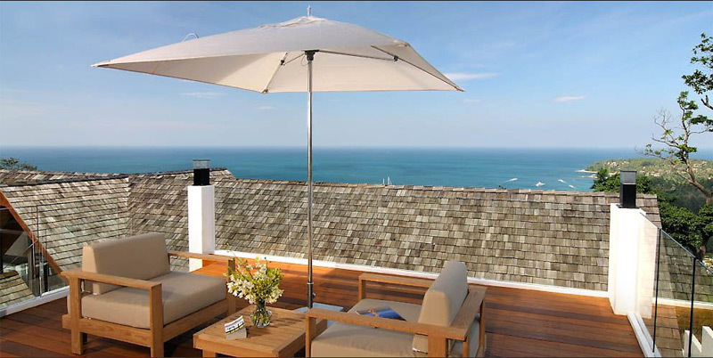 Phuket Villa 4195 Villa Balcony view