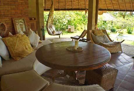 Seminyak Villa 308 Bali Pavilion Living Area
