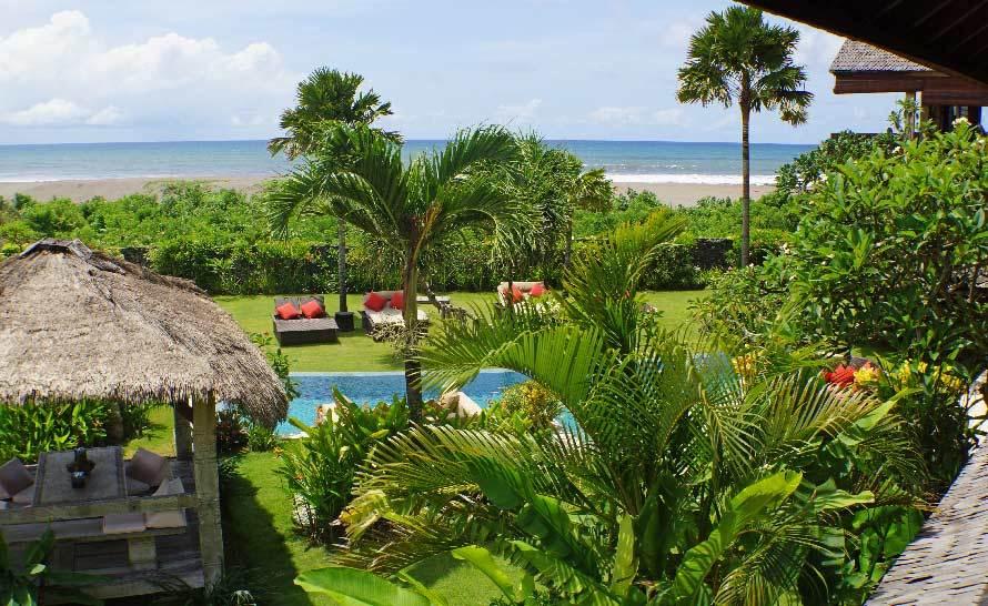 Seminyak Villa 308 Ocean view from Timor Pavilion