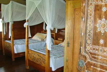Seminyak Villa 308 Timor Pavilion Twin Bedroom