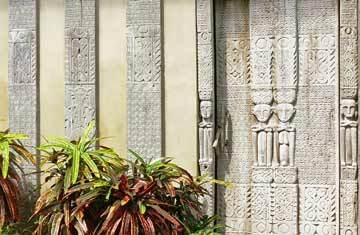 Seminyak Villa 308  Wood Carving