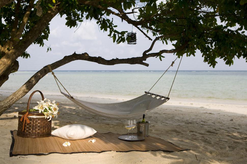 Koh Samui Villa 4356 Beachfront Hammocking
