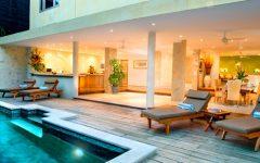 Legian Villa 3109 private tropical pool lounging