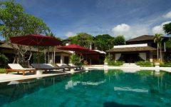 Pattaya Villa 4211 Spice lounge from swimming Pool