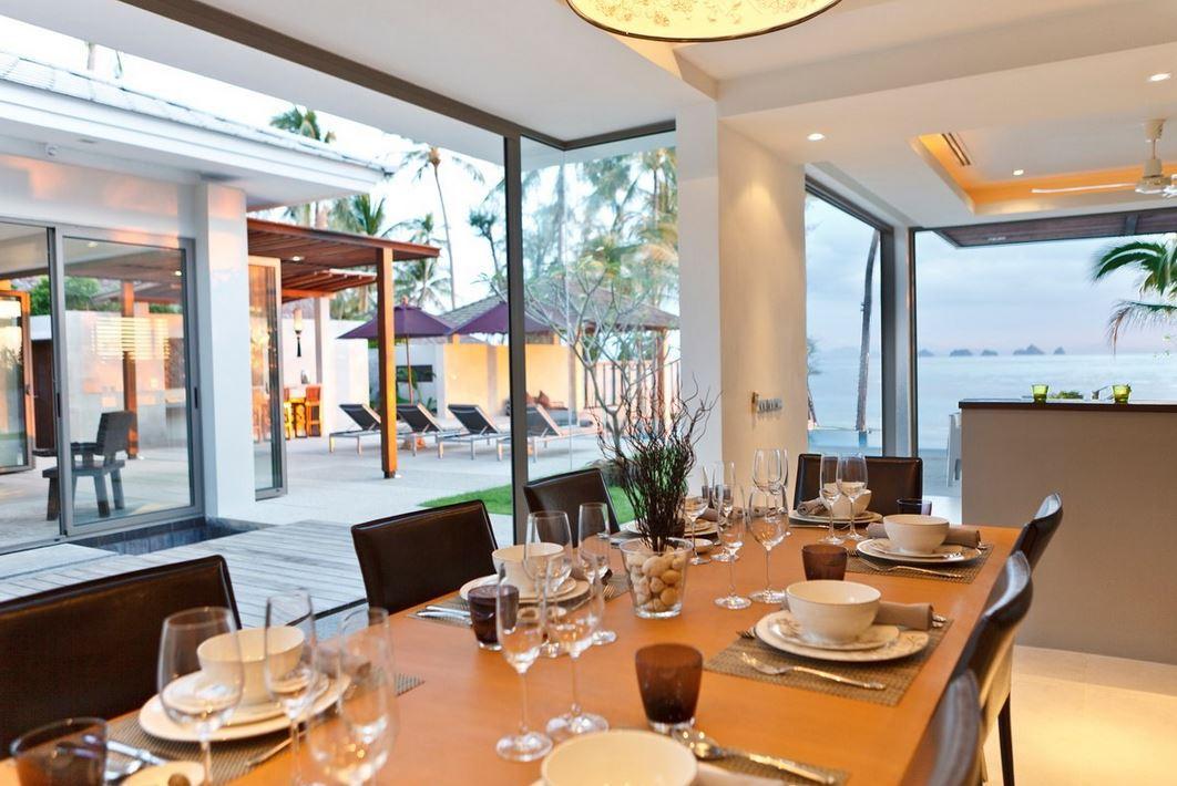 Koh Samui Villa 4343 - Villa Inasia Luxury Dining