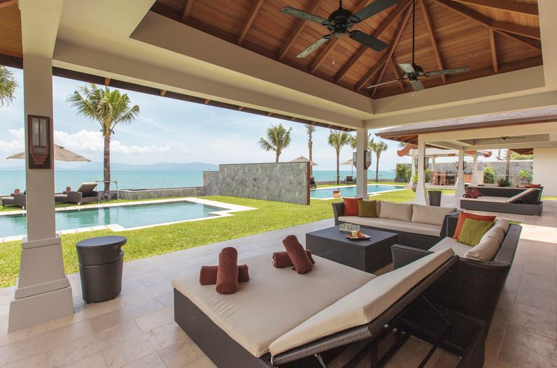 Koh Samui Villa 4373 - Villa Sila Outdoor Lounge
