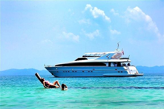 Couple Sea Excursion on Cruise