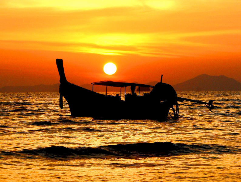 Sundowner Dinner on Long tail Boat