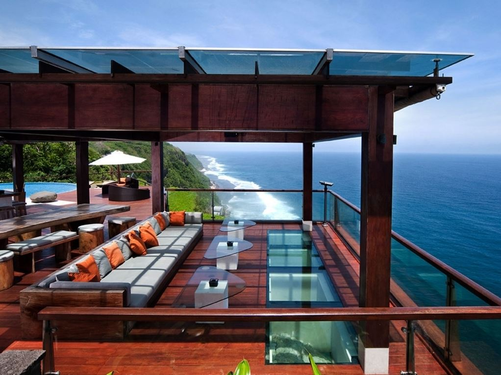 The Edge Villa - Uluwatu Villa 3304 Sea view from Luxury Bale