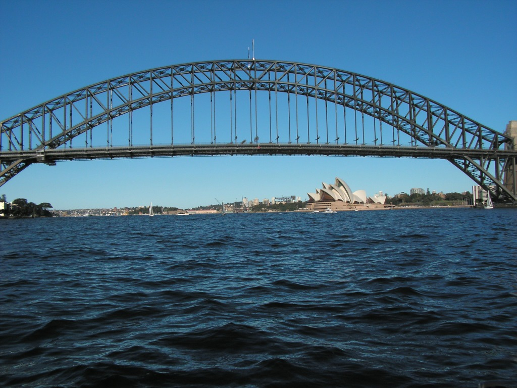 Sydney's iconic Harbour Bridge