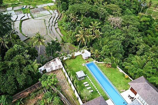 Beautiful Location of Villa 3148 surrounded by Tropical Forest and Rice Paddies