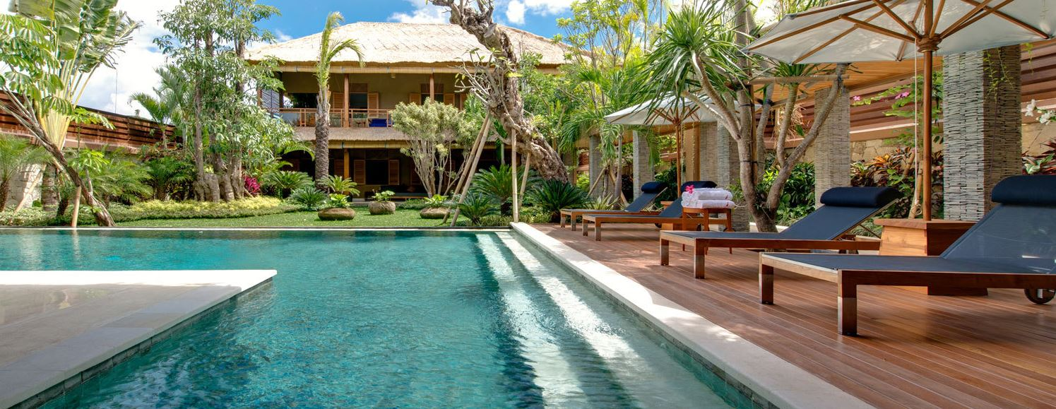 Kids friendly luxury villas in seminyak villa getaways for Pool design bali