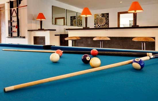 Snooker in Villa 3148