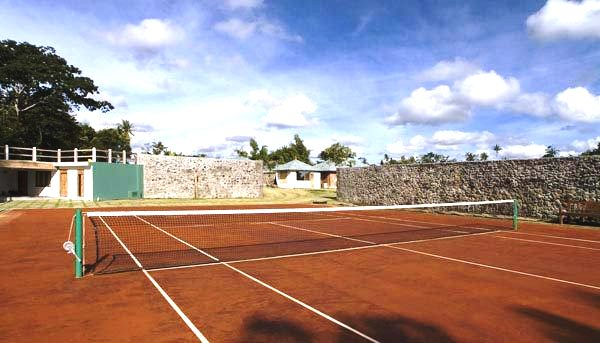 Tennis Court in Villa 3148