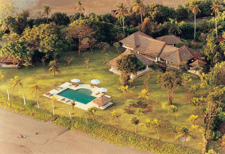 Seminyak Villa 300 Helicopter view