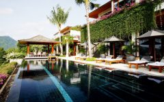 Long edged infinity pool in Villa 429 - Baan Andara in Phuket