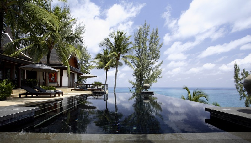 Phuket Villa 423 Infinity pool 6
