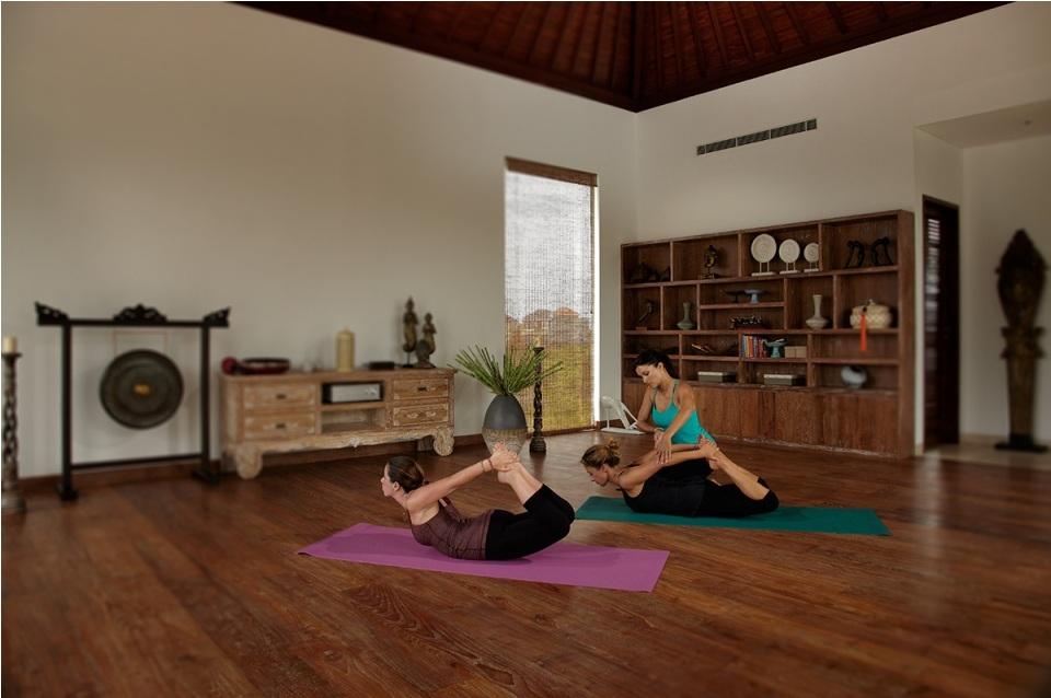 Seminyak Villa 3506 - Yoga practice in the studio