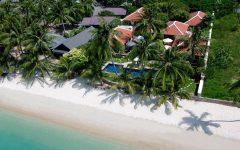 Koh Samui Villa 410 Aerial view of villa