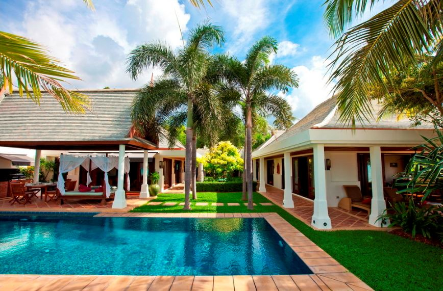Koh Samui Villa 483 Private salt water swimming pool