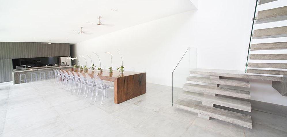 Seminyak Villa 3491- Large dining setup for 20 guests