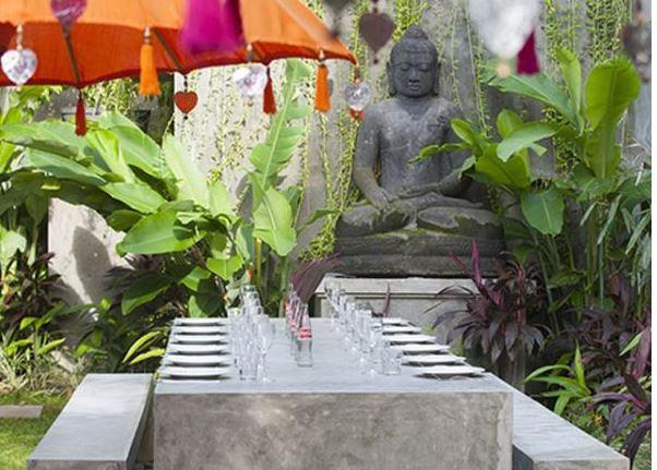 Seminyak Villa 3491 Outdoor Dining Area