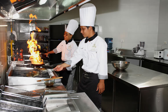 Specialty cuisines prepared by expert chefs in a villa 3393
