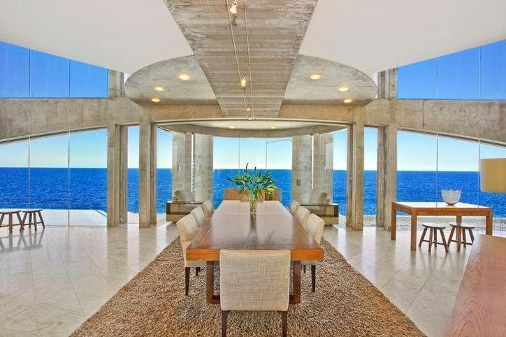 Sydney Villa 5145 - ceiling to floor glass windows and set at the edge of the ocean