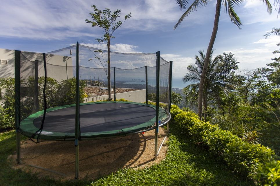 Villa 4431 - Kids play ground - Trampoline