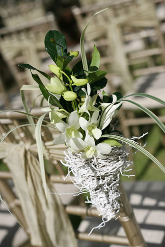 Wedding arrangements - Floral decorations