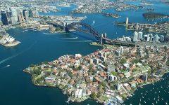Sydney Villa 5142 Aerial view of quintessential Sydney