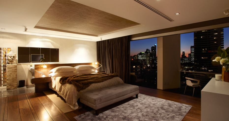 Top 3 harbor view luxury apartments near sydney cbd for Bedroom furniture sydney