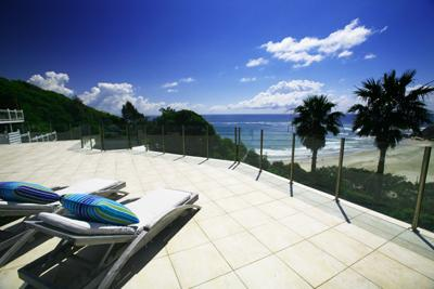 Byron Bay Villa 580  - property faces north east with a view direct to Cape Byron and overlooks the exclusive and famous Wategos Beach