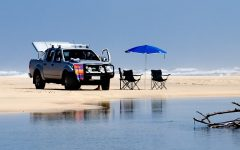 Noosa Villa 5312 - A 4-wheel drive is best way to explore the island and with a champagne lunch on deserted beach with your partner is quite popular_SMALL